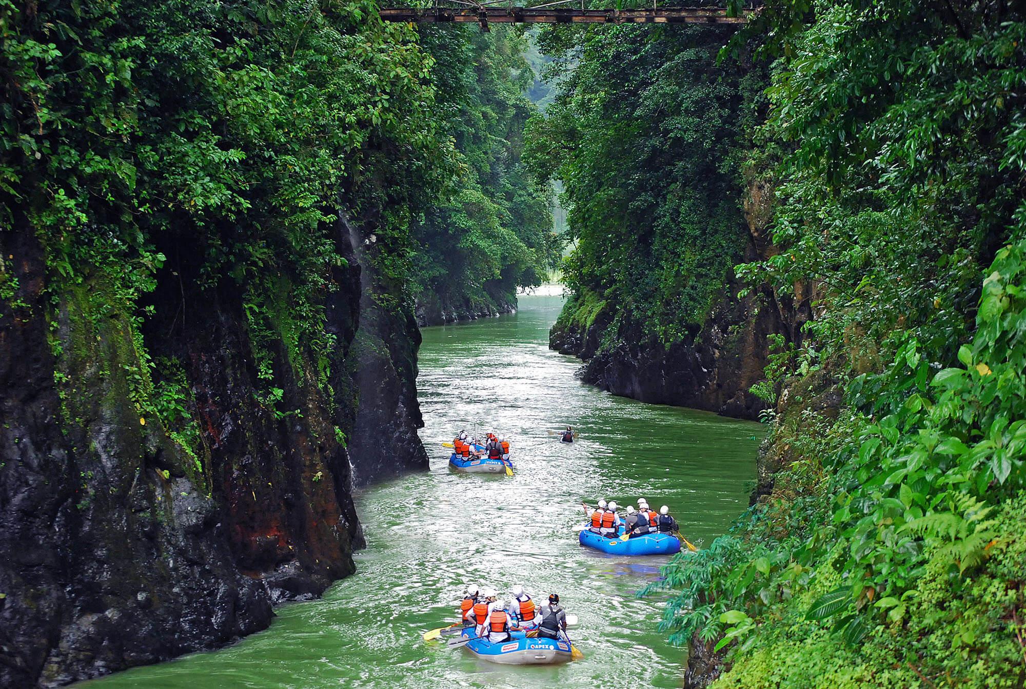 Pacuare lodge - Rafting