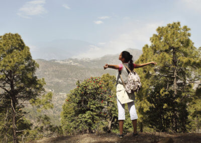 ananda - hiking 1