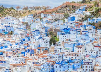 Chefchaoen Morocco blue city
